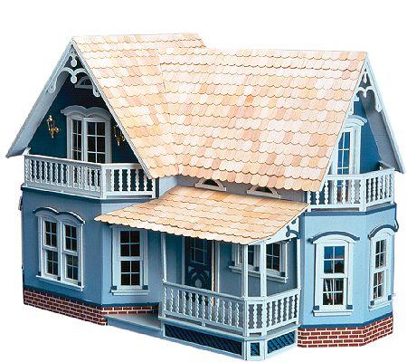 Magnolia All-Wood Dollhouse Kit