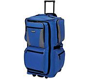 Travelers Club 29 6-Pocket Rolling Upright Duffel - Adventure - F249352