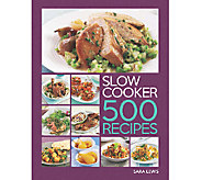 Super Slow Cooker: 500 Recipes Cookbook - F12054