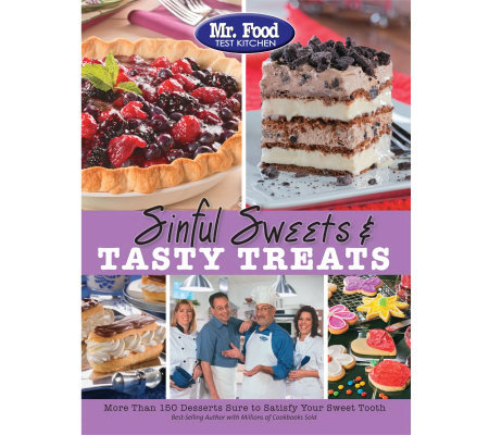 """Sinful Sweets and Tasty Treats"" Cookbook from Mr. Food"