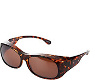 Haven Etched with Crystal Accents Fits Over Sunglasses - F12157