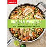 One-Pan Wonders Cookbook by Americas Test Kitchen - F12657
