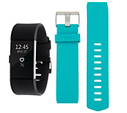 Ships 1/26 Fitbit Charge 2 Tracker with Additional Classic Band - F12757