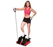 As Is Brenda DyGraf Total Body AirClimber with Step Tracker & DVDs - F198457