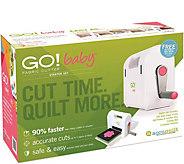 AccuQuilt GO! Baby Fabric Cutter Starter Set - F249857