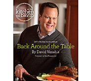 Back Around the Table: An In the Kitchen with David Cookbook - F11558
