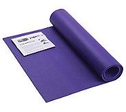 GoFit GF-YOGA Yoga Mat with Yoga Position Poster - F195458