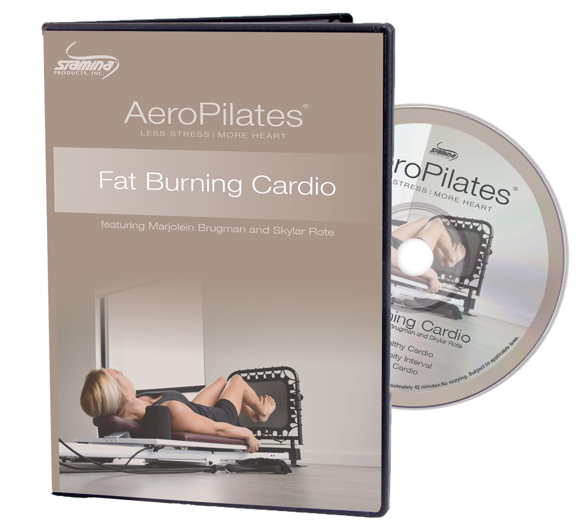 aeropilates fat burning cardio dvd page 1 qvc