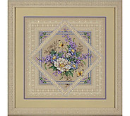 Dimensions Flowers and Lace Counted Cross-stitch Kit - F158059