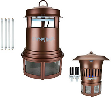 DynaTrap Indoor/Outdoor Mosquito and Insect Trap w/Extra Bulbs - F11763