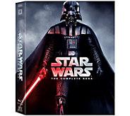 Star Wars: The Complete Saga Episodes I-VI Blu Ray DVD - F12063