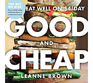 Good and Cheap Cookbook by Leanne Brown - F11964