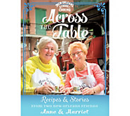 Across the Table Cookbook by Anne Leonhard and Harriet Robin - F12765