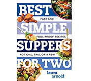 Best Simple Suppers for Two & Best Sweet Treats for Two Cookbook Set - F12865