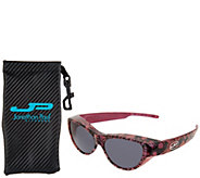 Jonathan Paul Retro Cat Fitover Sunglasses with Case - F13065