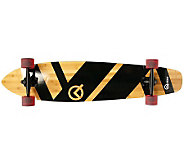 Quest Super Cruiser 44 Artisan Bamboo Long Board - F247865