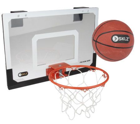 Over the Door Mini Basketball Hoop with Ball