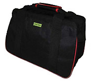Janet Basket Black/Red Eco Bag - 18x10x12 - F246766