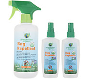 Greenerways 3-piece Organic Citronella Insect Repellent Spray - F13167