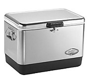 Coleman 54-Qt Stainless Steel Belted Cooler - F243867