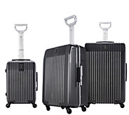 Travelers Club 3-Piece Hardside Spinner LuggageSet - F249368