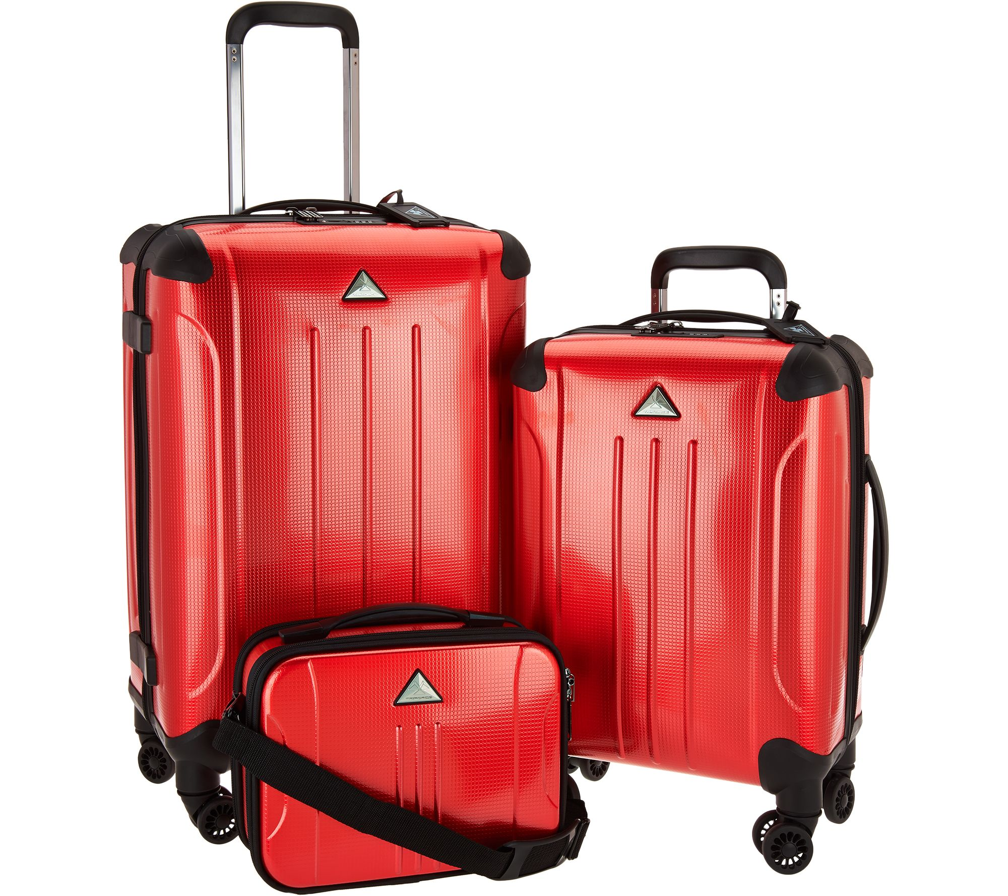 Triforce 3 piece spinner luggage collection apex f12769 best seller