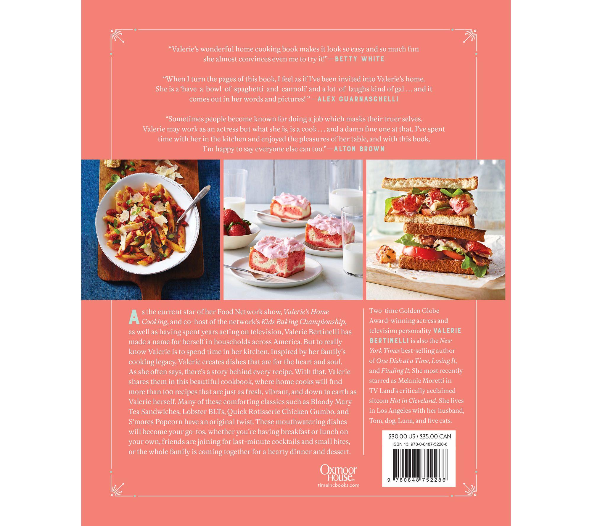 Valeries home cooking cookbook by valerie bertinelli page 1 valeries home cooking cookbook by valerie bertinelli page 1 qvc forumfinder Image collections