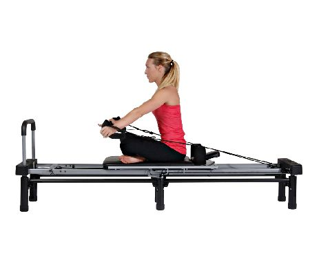 Aeropilates Reformer 266 With Stand Rebounder Cords