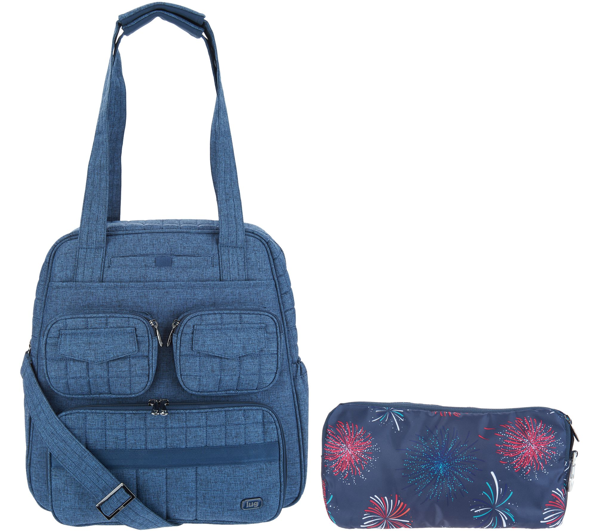 Lug Puddle Jumper Travel Bag with Packable Carry-All - Page 1 — QVC.com