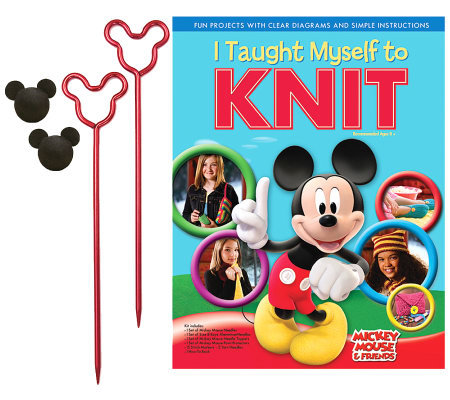 I Taught Myself To Knit Disney Mickey Mouse & Friends Kit