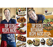 Todd Wilbur Set of 2 Top Secret Restaurant and Recipe Hacks - F12371