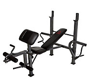 Marcy Standard Steel Workout Bench - F243871