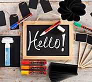 CHALK INK Chalkboard Markers & Accessories Starter Kit - F12972