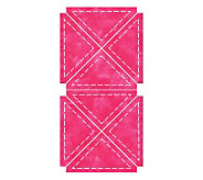 GO! Fabric Cutting Dies - Quarter Square 4 Finished Triangle - F246672