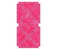 GO! Fabric Cutting Dies - Quarter Square 4 Finished Triangle - F246672