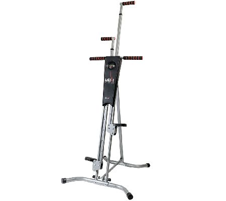 MaxiClimber Full Body Workout Calorie Burning Fitness Machine