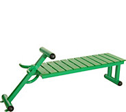 Stamina Outdoor Fitness Bench - F249873