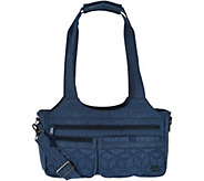 Lug East/West Shallow Handbag -Streetcar - F12374