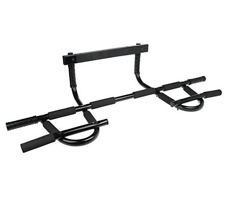 P90x 12 position grip door frame chin up bar for Door frame pull up bar