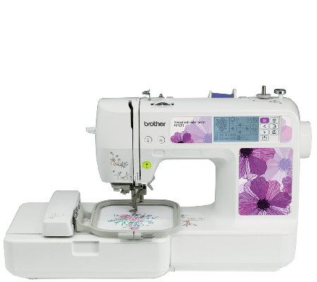 Brother PE525 Embroidery Machine With 70 Designs  QVC