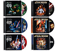 Star Wars The Complete Saga Soundtrack CD Bundle - F12076