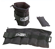 GoFit GF-10W Ankle Weights (Adjusts from 1 to 10 lbs) - F195476