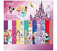 Disney Mega Paper Pad - Girl Designs 2 - F250676