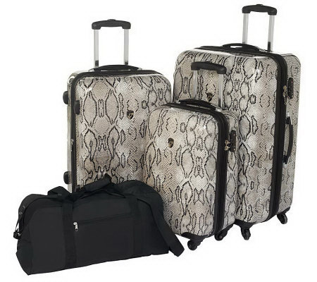 Heys 3-piece Hardside Spinner Luggage Set w/Duffel
