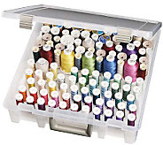 Art Bin Super Satchel Box With Removable ThreadTrays - F159179