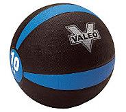 Valeo 10-lb Medicine Ball - F248579