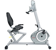 Sunny Health & Fitness Recumbent Bike with ArmExerciser - F249779