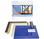 Janome Artistic Edge Heat Transfer Vinyl Starter Kit - F250279