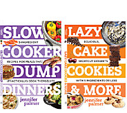 Slow Cooker Dump Dinners & Lazy Cakes and Cookies S/2 Cookbooks - F12080
