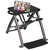 Pilates PRO Chair with 4 DVDs by Lifes a Beach - F13180